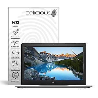 Celicious Vivid invizibil lucios HD Screen protector film compatibil cu Dell Inspiron 15 5570 (non-Touch) [Pack de 2]