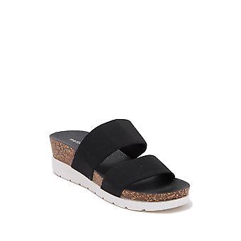 Madden Girl Womens Nikkii Fabric Open Toe Casual Platform Sandals