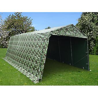 Garagetent PRO 3,3x6x2,4m PVC, Camouflage