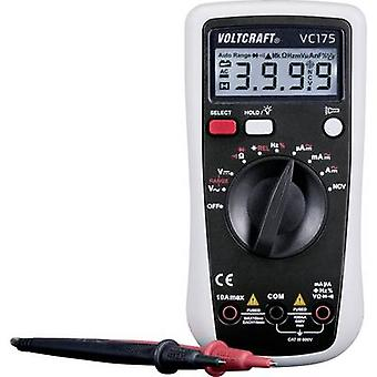 VOLTCRAFT VC175 Handheld Multimeter Digital CAT III 600 V Display (Anzahl): 4000