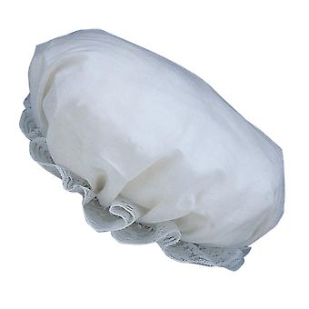 Colonial Victorian White Bonnet Olden Day Maid Girls Womens Mob Cap