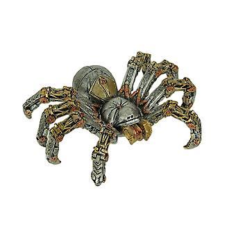 Mechanical Steampunk Spider Cyborg Tarantula Statue