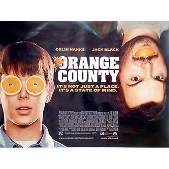 Orange County Original Cinema Poster