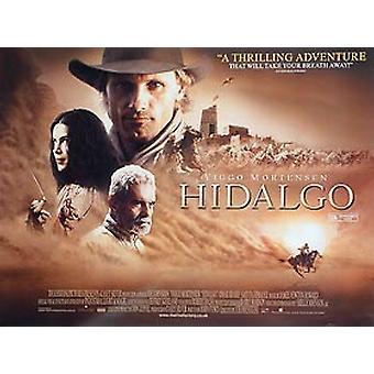 Hidalgo alkuperäinen elokuva teatteri juliste