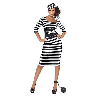 Womens stijlvolle veroordelen Fancy Dress kostuum