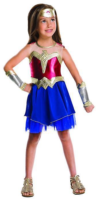 Wonder kvinne Justice League kostyme Kids SuperheroIn Carnival jente