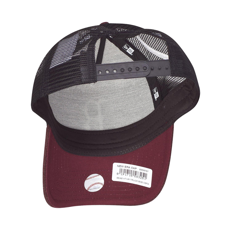 Fabrikpreis Fantastisk pris New Era Adjustable Trucker Cap - HEATHER Boston Sox maroon cQ23h