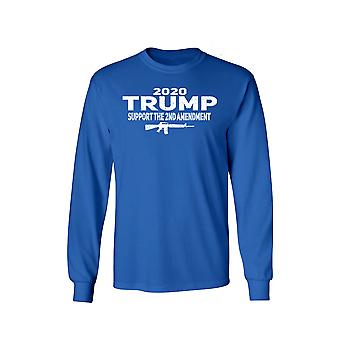 Unisex Trump Support the 2nd Amendment Long Sleeve Shirt