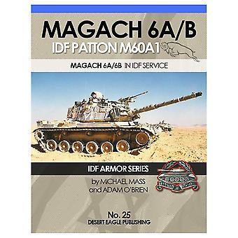 Desert Eagle Book Magach 6A/B – IDF Patton M60A1 – osa 3