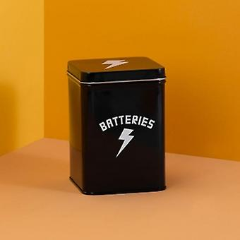 Bright Side 'Batteries' Storage Tin | Gifts From Handpicked