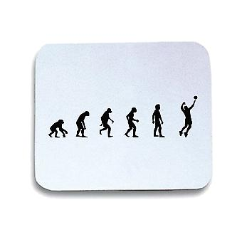 White mouse pad pad wtc1175 evolution of mens volleyball