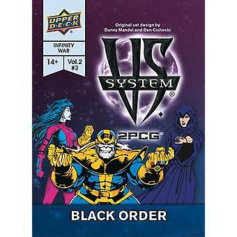 Gioco di carte System Black Order
