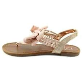Material Girl naisten Swan avoimen rento Slingback sandaalit