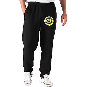 Pantaloni tuta nero trk0782 just add beer