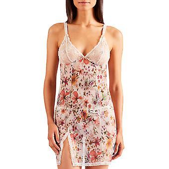 Aubade PA40 Women's Reine Des Pres Floral Lace Chemise Slip Sleepwear Chemise Nightdress