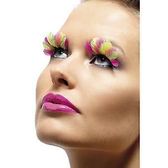 Feather Eyelashes, One Size