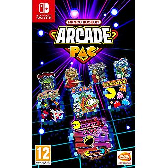 Namco Museum Arcade Pac Switch Game