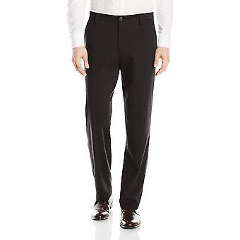 Dockers Men-apos;s Classic Fit Easy Khaki Pantalon D3,, Noir (Stretch), Taille 38W x 29L