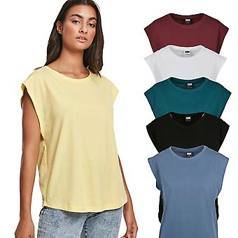 Urban Classics Ladies - Grundlæggende Formet Top Shirt