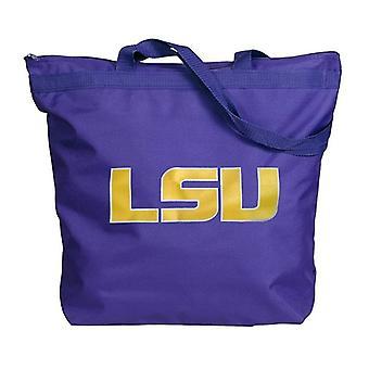 LSU Tigers NCAA Zipper Tote Bag