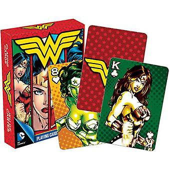 Dc comics wonder woman playing cards