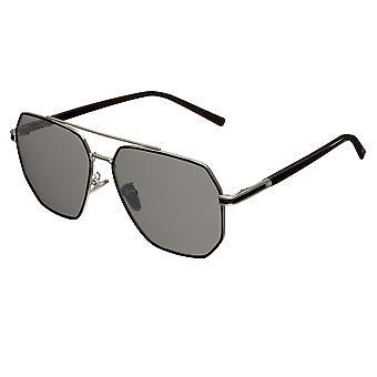 Bertha Brynn Polariserede solbriller - Sølv/Sort