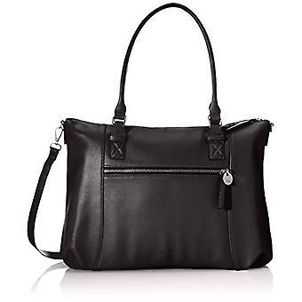 s.Oliver Black Woman Handbag (Grey/Black 9999)) 12.5x30x42 cm (B x H x T)
