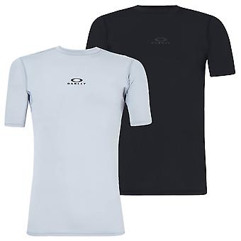 Oakley Mens Foundational Training Wicking Base Layer Performance T-Shirt