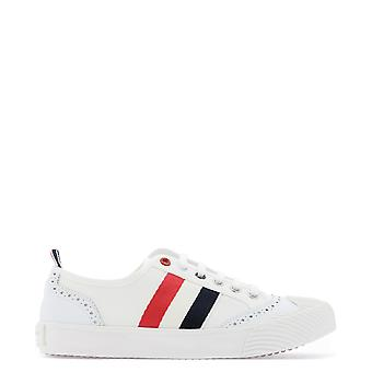 Thom Browne Fff056a01588100 Women's White Leather Sneakers