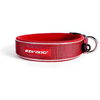 Ezydog Collar Neo Classic Rojo (Honden , Halsbanden en Riemen , Halsbanden)