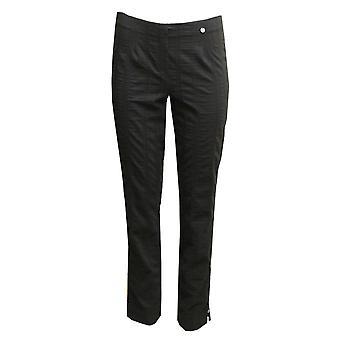ROBELL Robell Black Trouser Marie 51412 54554 90