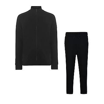 Hugo Boss Zkybox Skyman 1 Zip Up Black Tracksuit