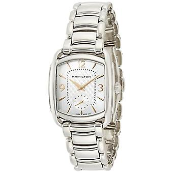Hamilton ladies Quartz analogue watch with stainless steel band H12451155