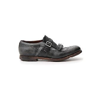 Church's Eog0019af9f0dd4 Men's Grey Leather Monk Strap Shoes