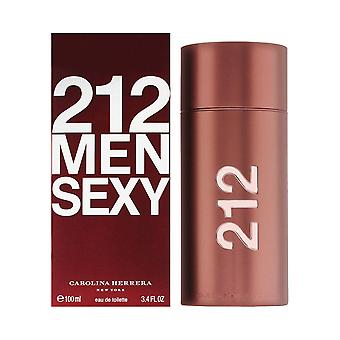 Carolina Herrera 212 Sexy Men Eau de Toilette Spray 100ml