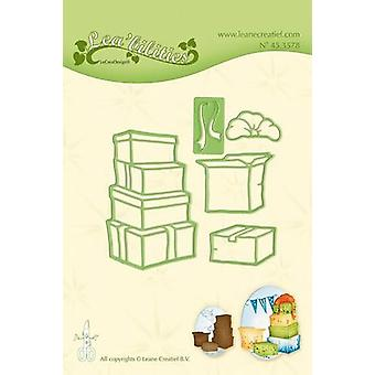 LeCrea - Lea'bilitie Boxes / presents Cut and Embossing Die 45.3578