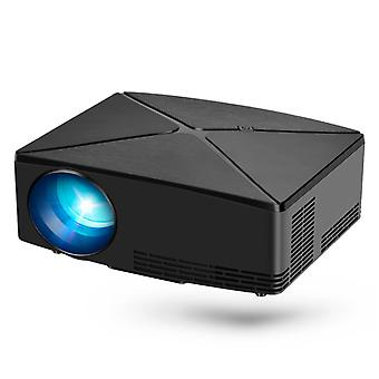 Proiector LED AUN C80 - Mini Beamer Home Media Player Negru