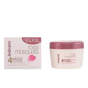 Babaria Rosa Mešeta Crema Obličejová 4 Efectos 125 ml pro ženy