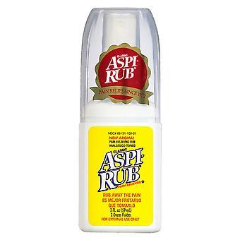 Aspi-rub pain reliever, 2 oz