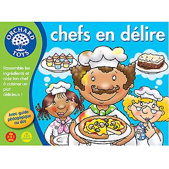 Crazy Chefs Game (French Language Edition)