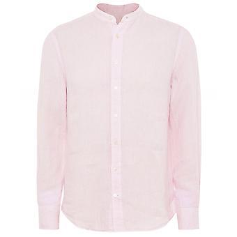 Hackett Kleidungsstück gefärbt Leinen Shirt