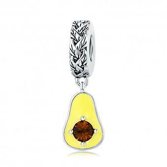 Sterling Silver hänge Charm Avokado - 5695