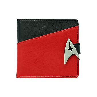 Star Trek Commander Logo Premium Bi-Fold Wallet