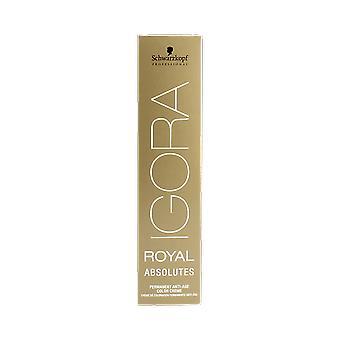Igora מלכותי בגיל מרובע מיזוג 6-460 שוקולד כהה בלונדיני בז ' 60ml