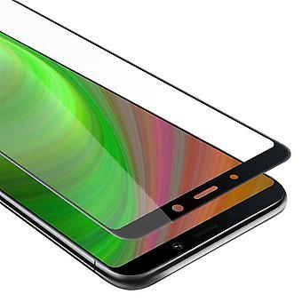 Cadorabo koko näytön säiliökalvo Samsung Galaxy A9 2018 - karkaistu näyttö suojalasi 9H kovuus 3D Touch yhteensopivuus