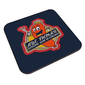 Ferris Buellers Day Off Abe Forman Sausage King Of Chicago Coaster
