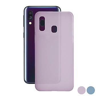 Pokrowiec na telefon Samsung Galaxy A40 KSIX Color Liquid