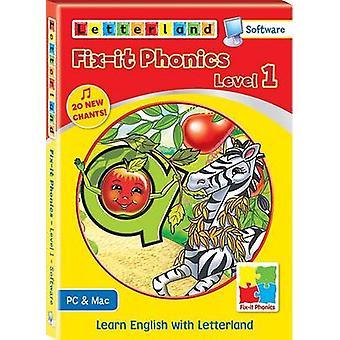 Fix-it Phonics - Software - Level 1 by Lisa Holt - 9781862098220 Book