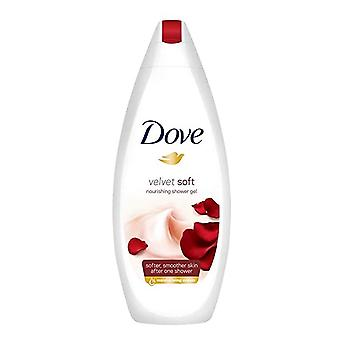 Dove Velvet Soft Moisturizing Body Wash, 16.9 Ounce / 500 Ml