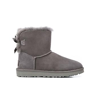 Ugg Ezcr013013 Women's Grey Suede Ankle Boots
